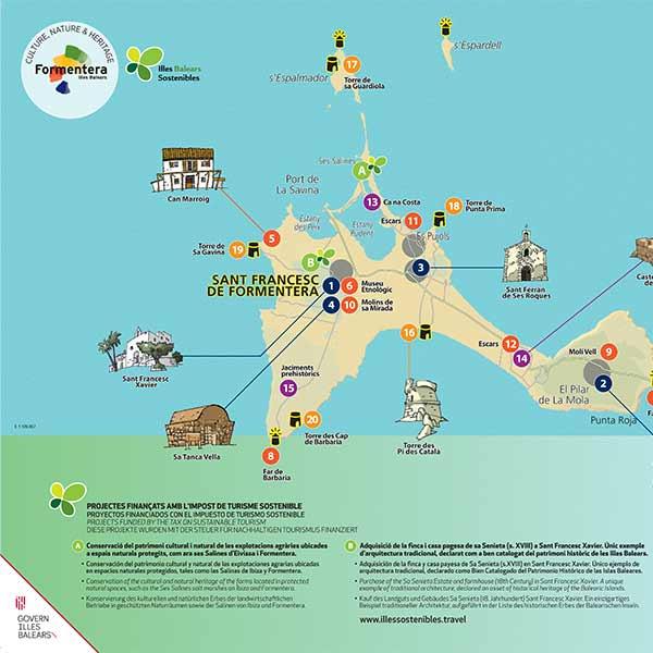 Ibiza Karte Ausdrucken.Islas Baleares Mallorca Menorca Ibiza Y Formentera